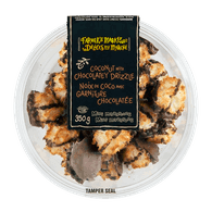 Farmer's Market Macaroons Chocolate Drizzled (350g)  - Urbery