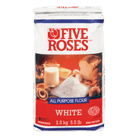 Five Roses All Purpose Flour, White (2.5kg)  - Urbery