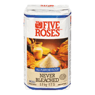 Five Roses All Purpose Flour, Never Bleached (2.5kg)  - Urbery