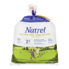 Natrel Milk Lactose Free Partly Skimmed Milk (4L)  - Urbery