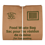 Bag to Earth Food Waste Bag, Large (5ea)  - Urbery