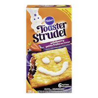 Pillsbury Frozen Breakfast Toaster Strudel, Wildberry (326g)  - Urbery