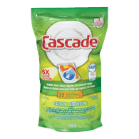 Cascade 2-in-1 ActionPacs with Dawn, Citrus Scent (25ea)  - Urbery