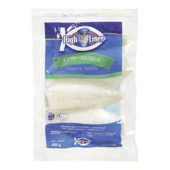 High Liner Cod Fillets (400g)  - Urbery