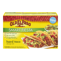 Old El Paso Smart Fiesta Dinner Kit, Hard Taco (227g)  - Urbery