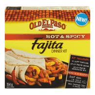 Old El Paso Fajita Dinner Kit, Hot & Spicy (354g)  - Urbery