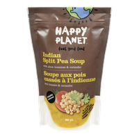 Happy Planet Organic Indian Split Pea Soup (650mL)  - Urbery