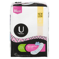 Kotex Security Ultra Thin Pads, Long (40 ea)  - Urbery