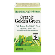 Traditional Medicinals Organic Golden Green Tea with Lemongrass (20ea)  - Urbery