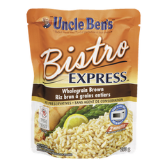 Uncle Ben's Bistro Express Wholegrain Brown Rice (250g)  - Urbery