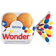 Wonder Hamburger Buns (8/pack)  - Urbery