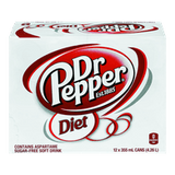 Diet Dr. Pepper (12X355ML)