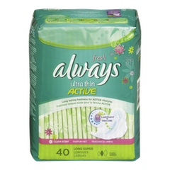 Always Maxi Pad Ultra Super With Wings (40ea)  - Urbery