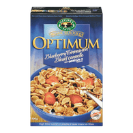 Nature's Path Optimum Power Blueberry Cinnamon Flax Cereal (400g)  - Urbery