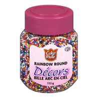 Club House Decors, Rainbow Round (113g)  - Urbery