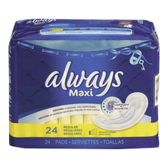 Always Maxi Pad Regular (24ea)  - Urbery