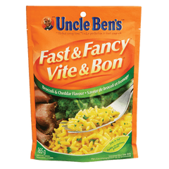 Uncle Ben's Fast & Fancy Broccoli & Cheddar (165g)  - Urbery