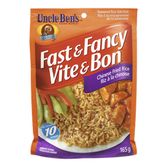 Uncle Ben's Fast & Fancy Chinese Fried Rice (165g)  - Urbery