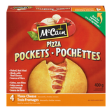 McCain Pizza Pockets Three Cheese (400g)