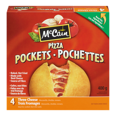 McCain Pizza Pockets Three Cheese (400g)  - Urbery