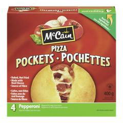 McCain Pizza Pockets Pepperoni (400g)  - Urbery
