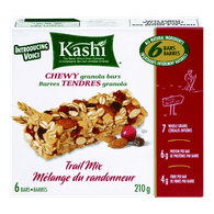 Kashi Chewy Granola Bars, Trail Mix (210g)