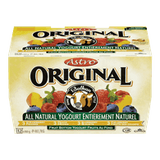 Astro Original Balkan Style Yogurt, Peach/Strawberry/Blueberry/Fieldberry (12x100g)