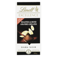 Lindt Excellence Roasted Almond (100g)  - Urbery