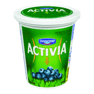 Danone Activia Probiotic Yogurt, Blueberry (650g)  - Urbery