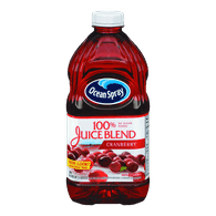 Ocean Spray 100% Juice Blend, Cranberry (1.89L)  - Urbery