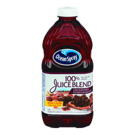 Ocean Spray 100% Juice Blend, Cranberry Pomegranate (1.77L)  - Urbery
