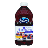 Ocean Spray 100% Juice Blend, Cran-Grape (1.89L)  - Urbery