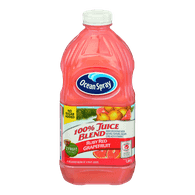 Ocean Spray 100% Juice Blend, Ruby Red Grapefruit (1.77L)  - Urbery