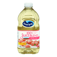Ocean Spray 100% Juice Blend, White Cranberry (1.77L)  - Urbery