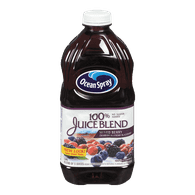 Ocean Spray 100% Juice Blend, Cranberry Blueberry Blackberry (1.89L)  - Urbery