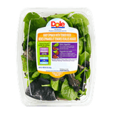 Dole Baby Spinach With Tender Reds Salad (142g)