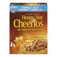 General Mills Honey Nut Cheerios Family Size (685g)  - Urbery