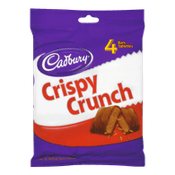 Cadbury Crispy Crunch Bar, Package of 4 (192g)  - Urbery