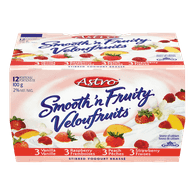 Astro Smooth 'n Fruity Cr̩me Vanilla Raspberry Peach (12x100g)  - Urbery