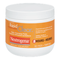 Neutrogena Rapid Clear Daily Cleansing Pads (175mL)  - Urbery