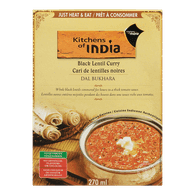 Kitchens of India Curry Black Gram Lentil (270ML)