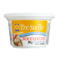 Tre Stelle Bocconcini, Light Cheese (200g)  - Urbery