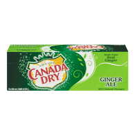 Canada Dry Ginger Ale (12X355ML)  - Urbery