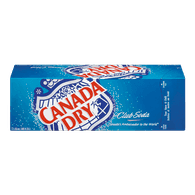 Canada Dry Club Soda (12X355ML)  - Urbery