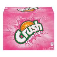 Crush Cream Soda (12X355ML)  - Urbery