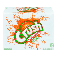 Crush Diet Orange (12X355ML)  - Urbery
