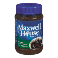 Maxwell House Instant Coffee, Decaf (150g)  - Urbery