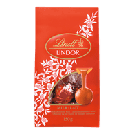 Lindt Lindor Milk Chocolate Bag (150g)  - Urbery