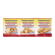 Fleischmann's Active Dry Yeast, Traditional (3x8g)  - Urbery