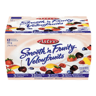 Astro Smooth 'n Fruity Strawberry Blueberry Cherry (12x100g)  - Urbery
